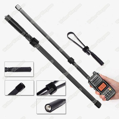 Foldable Tactical Antenna SMA-Female For Walkie Talkie Baofeng UV-82 UV-5R Radio