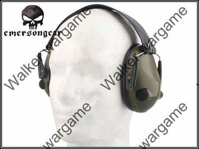 Emerson TACS 6S Peltor Tactical 6S Electronic Ear Defenders Headset