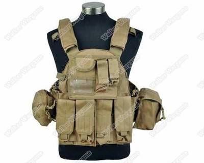 US Navy Seals VT089 Tactical Molle LBT Vest - Marine Tan