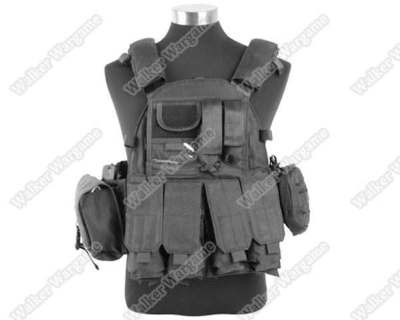 US Navy Seals VT089 Tactical Molle LBT Vest - SWAT Black