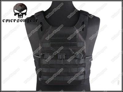 Tactical VT390 JPC Molle Vest Plate Carrier - SWAT Black