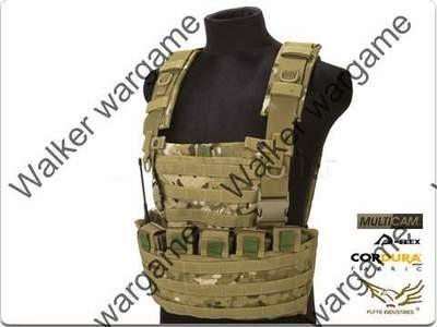 FLYYE Lightweight WSH Chest Rig Molle Vest - Multicam