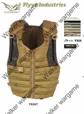 FLYYE Delta Vest with 3L Bladder - Tan