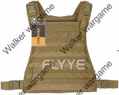 Flyye C2 MBSS Plate Carrier Molle Vest - Tan