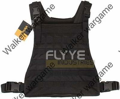 Flyye C2 MBSS Plate Carrier Molle Vest - SWAT Black