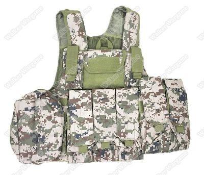 Force Recon MOD MOLLE Vest - SURPAT Multi-Terrain Digital Camouflage
