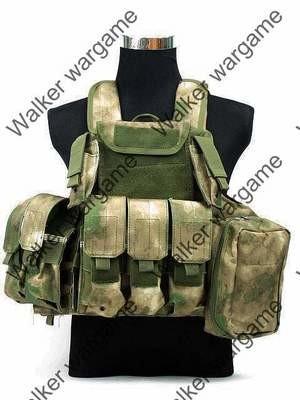 US Force Recon Marine MOD MOLLE Vest - ATACS FG