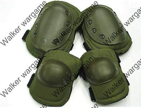 Tactical Knee & Elbow Pad - OD Green