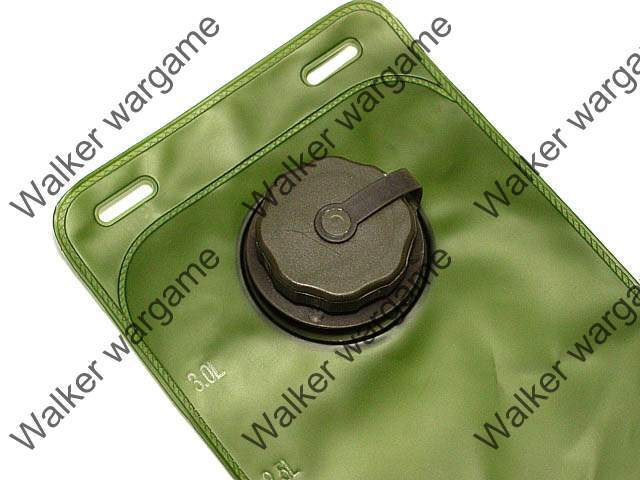 3L Hydration Water Bladder Reservoir (Water Bag) - OD Green