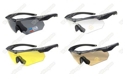SZGESS Tactical Shooting Glasses Protective Glasses With 4 Set Lens - BL