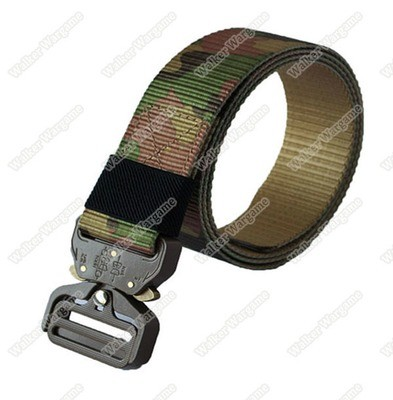 COBRA EDC Tactical Belt With Quick Release Buckle - Multi camo