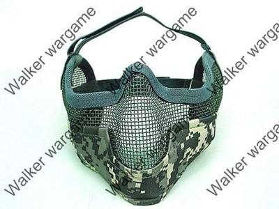 Stalker Type Half Face Metal Mesh Mask Ver. 2 -- ACU