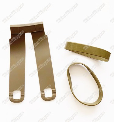 FASTMAG 5.56 Pouches Replacement Rubber Bands Kit - Tan