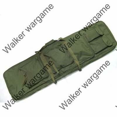 115CM Dual Rifle Carrying Bag - OD & Black