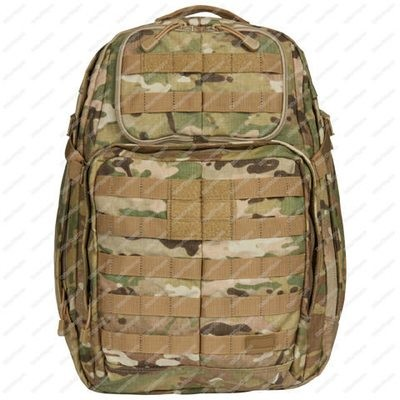 Tactical Rush Molle Bag Backpack - Multi Color