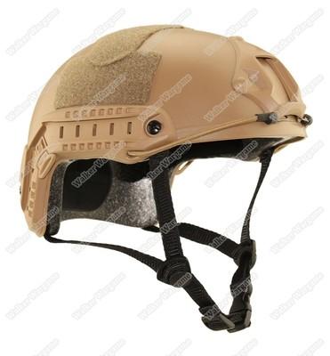 Basis Fast Jump Helmet With NVG Mount & Side Rail