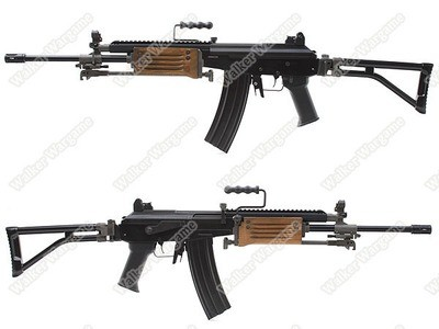 ICS ICAR GRM IMI Galil (South Africa R4 Rifle) AEG Full Metal With Bipod