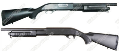 CYMA 350M Full Metal Remington 870 Pump Action Shotgun (Shot 3 BB Per Time)