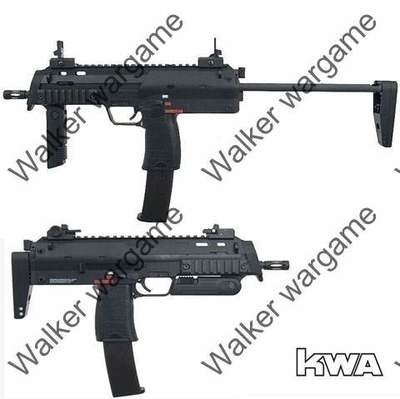 KWA H&K Licensed Gas Blow Back Version MP7A1 SMG Full Metal