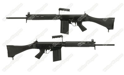 ARES L1A1 FAL Airsoft Full Size Battle Rifle AEG - South Africa R1 Rifle