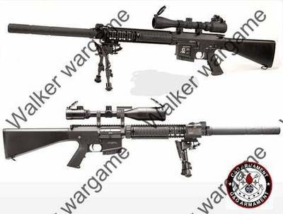 G&G Top Tech GR25 MK11 SR25 SPR Sniper Full Size Full Metal AEG Sniper Rifle