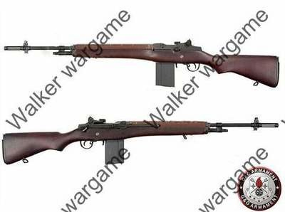 G&G M14 (GR14) Full Metal ABS Wood Stock Sniper Rifle