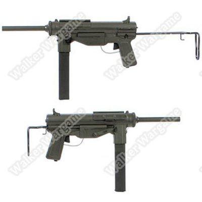 Snow Wolf M3A1 Grease Gun WW2 Submachine Gun AEG Airsoft