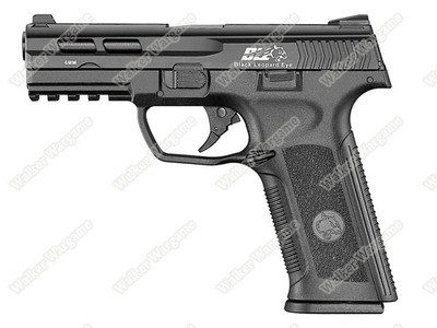 ICS BLE XAE Ambidextrous Duty Size Green Gas Blow Back GBB Airsoft Pistol - Black