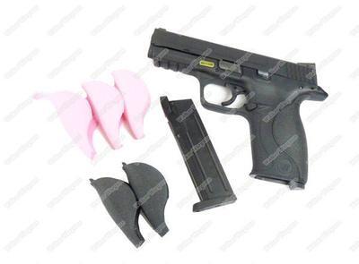 WE M&P 22 BIG BIRD Full Auto Green Gas GBB Gas Blow Back Pistol - Black