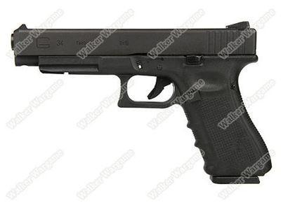 WE Tech Glock 34 IPSC Geen Gas Blow Back Pistol