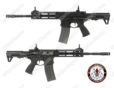 CM16 Raider L 2.0E Combat Machine Airsoft Rifle Build In MOSFET And ETU - Black
