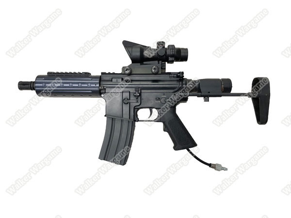 HPA Gas Airsoft - Polarstar Gen3 Fusion Engine Baby M4 Full Metal With Scope