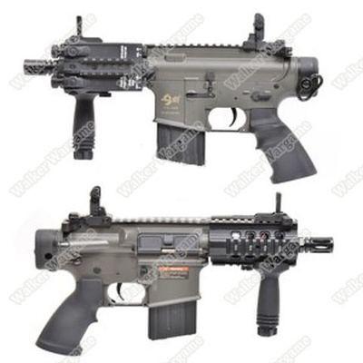 JG F6631 M4 Pistol CQB STUBBY ELECTRIC AIRSOFT GUN - BLACK