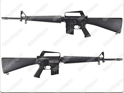 JG Newest Version M16A1 -VN Vietnam Full Metal Airsoft AEG Rifle