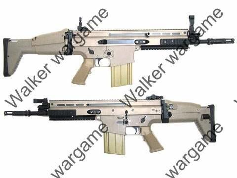 Dboys FN Herstal MK17 SCAR Heavy CQC Full Metal AEG - Desert Tan