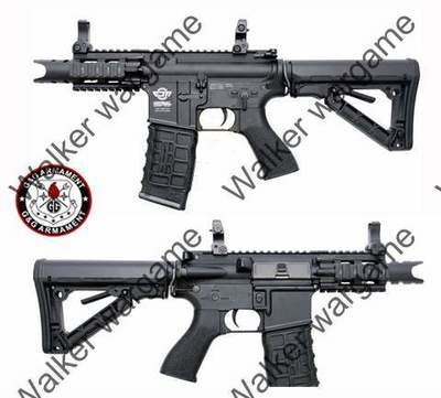 G&G Fire Hawk M4 CQB Rifle Magpul Styel - Electric Blow Back- Black