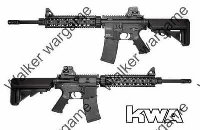 KWA M4 SR10 Full Metal Crane Stock - AEG Airsoft Gun
