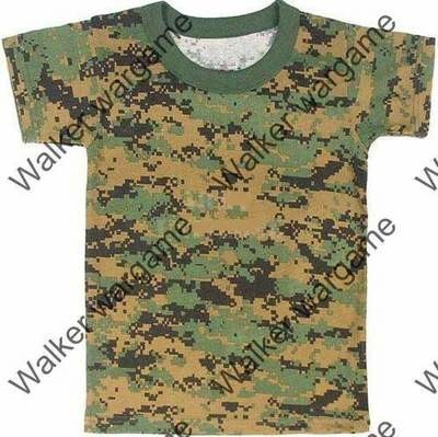 Camo Shirts -- US Marine Marpat Digital Woodland