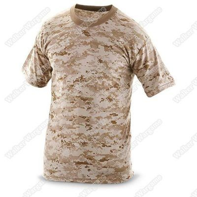 Camo Shirts -- US Marine Digital Desert