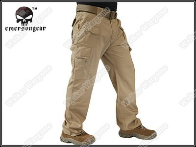 Emerson Tactical PMC Cargo Pants Private Military Contractor Favorite - Desert Tan