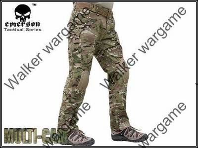 Combat Pants Build In Knee Pads - Multi camo
