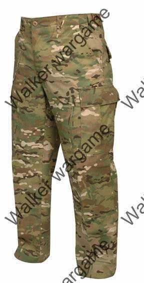 New US Amry Special Froce Camo Multi Camo Pants