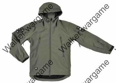 US Special Forces Soft Shell Combat Jacket OD Green