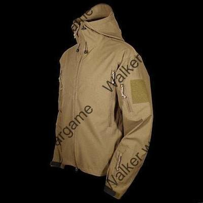 Special Forces Soft Shell Combat Jacket Coyote Brown Colour