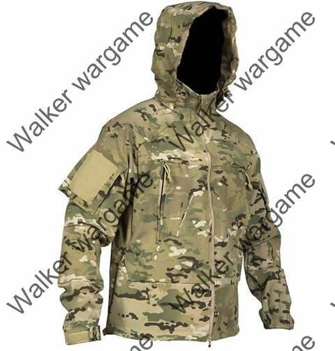 US Special Forces Soft Shell Combat Jacket Multi Camo
