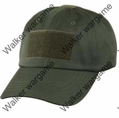 Operator Cap Velcro Flag Blood Patch - OD Green