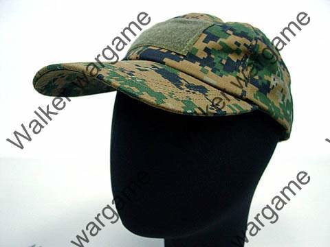 Operator Cap Velcro Flag Blood Patch - Digital Woodland