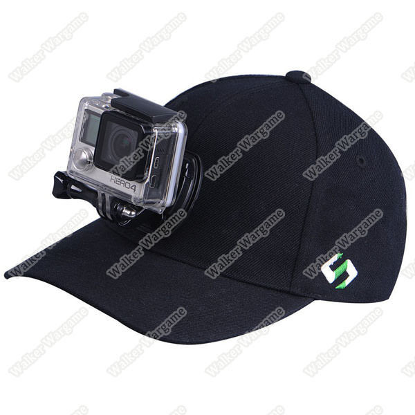 Baseball Hat for GoPro - Quick Release For GoPro Hero 5, Hero 4, Session, 3+, 3, 2, 1