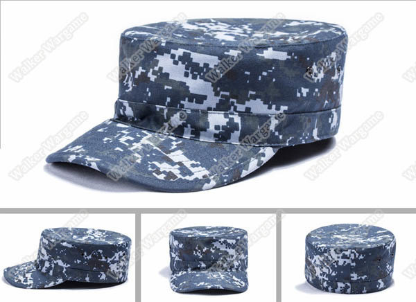 Combat Cap Hat - US Navy NWU Digital Navy Camo