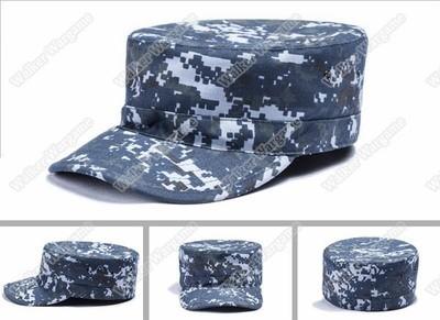 Combat Cap Hat - US Navy NWU Digital Navy Camo